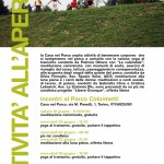 Attività all'aperto nel Parco Colonnetti