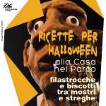 RICETTE PER HALLOWEEN – domenica 30 ottobre